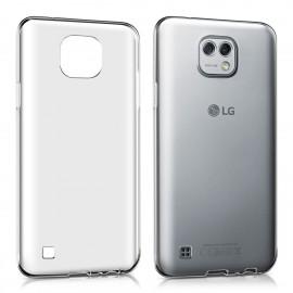 Funda Gel LG X Cam Flexible y lavable Transparente