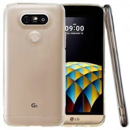 Funda Gel LG G5 Flexible y lavable Transparente