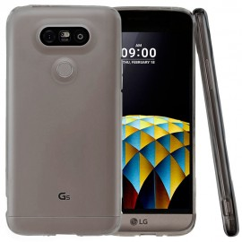 Funda Gel LG G5 Flexible y lavable Negra