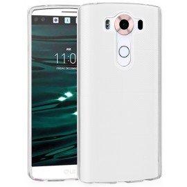 Funda Gel LG V10 Flexible y lavable Transparente