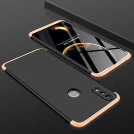 Funda 360 Huawei P Smart 2019 Negra y Dorada