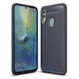 Funda Huawei P Smart 2019 Gel Hybrida Cepillada Azul