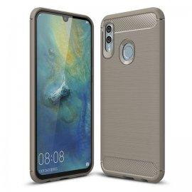 Funda Huawei P Smart 2019 Gel Hybrida Cepillada Gris