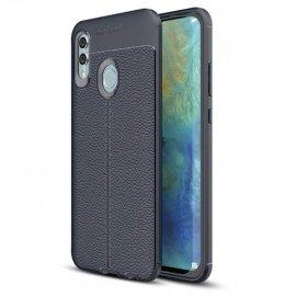 Funda Huawei P Smart 2019 Tpu Cuero 3D Azul