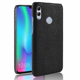 Carcasa Huawei P Smart 2019 Cuero Estilo Croco Negra