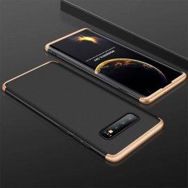 Funda 360 Samsung Galaxy S10 Dorada y Negra