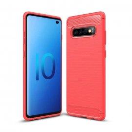 Funda Samsung Galaxy S10 Tpu 3D Roja