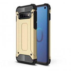 Funda Samsung Galaxy S10 Shock Resistante Dorada
