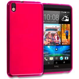 Funda HTC Desire 816 Gel Rosa