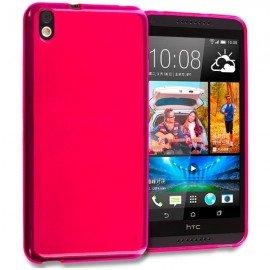 Funda HTC Desire 816 Gel Rosa
