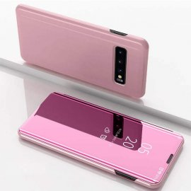 Funda Libro Smart Translucida Samsung Galaxy S10 Rosa