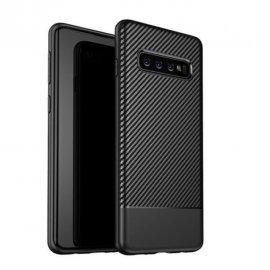 Funda Samsung Galaxy S10 Tpu Carbon 3D Negra