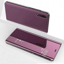 Funda Libro Ventana Translucida Huawei P Smart 2019 Rosa