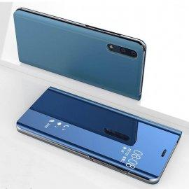 Funda Libro Ventana Translucida Huawei P Smart 2019 Azul