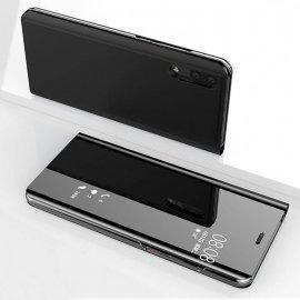 Funda Libro Ventana Translucida Huawei P Smart 2019 Negra