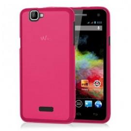 Funda Wiko Rainbow 4G Gel Rosa
