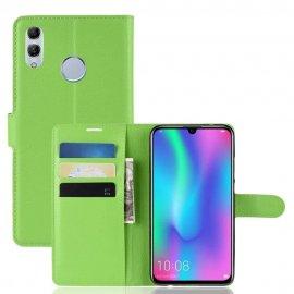 Funda cuero Flip Huawei P Smart 2019 Verde