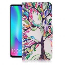 Funda Libro Huawei P Smart 2019 Soporte Arbol