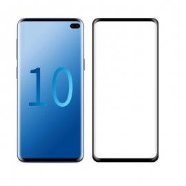 Protector Pantalla Cristal Templado Premium Samsung Galaxy S10 PLus Negro