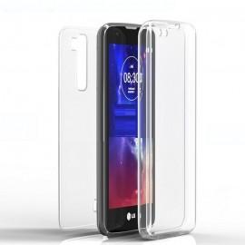 Funda LG K10 Doble Cara Full Transparente