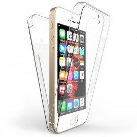 Funda iphone 5 Doble Cara Full Transparente