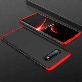 Funda 360 Samsung Galaxy S10 Plus Roja y Negra