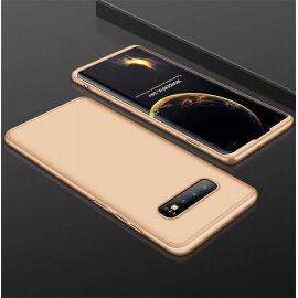 Funda 360 Samsung Galaxy S10 Plus Dorada