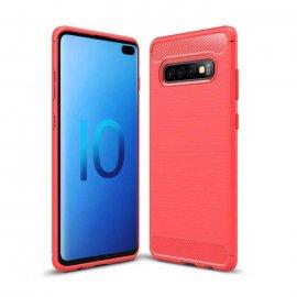 Funda Samsung Galaxy S10 Plus Tpu 3D Roja