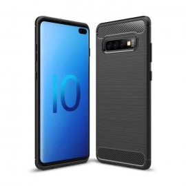 Funda Samsung Galaxy S10 Plus Tpu 3D Negra