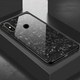Funda Xiaomi Redmi Note 6 Pro Tpu Negra Trasera Cristal