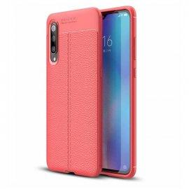 Funda Xiaomi MI 9 SE Tpu Cuero 3D Roja