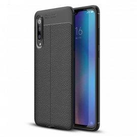 Funda Xiaomi MI 9 SE Tpu Cuero 3D Negra
