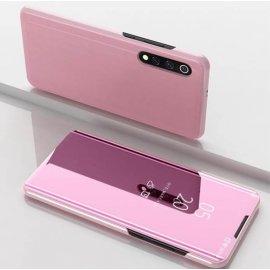 Funda Libro Smart Translucida Xiaomi MI 9 SE Rosa