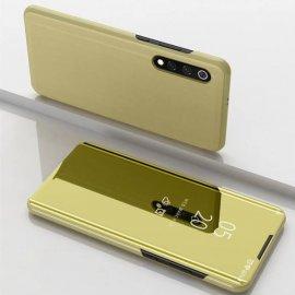Funda Libro Smart Translucida Xiaomi MI 9 SE Dorada