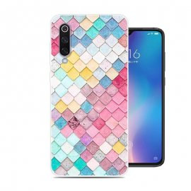 Funda Xiaomi MI 9 SE Gel Dibujo Acuarela