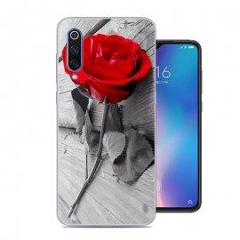 Funda Xiaomi MI 9 SE Gel Dibujo Rosa