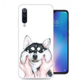 Funda Xiaomi MI 9 SE Gel Dibujo Perrito