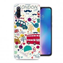 Funda Xiaomi MI 9 SE Gel Dibujo London