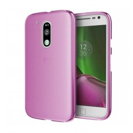 Funda MOTO G4 Plus Gel Rosa