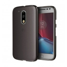 Funda MOTO G4 Plus Gel Negra