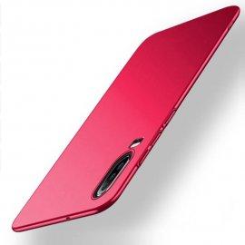 Funda Gel Huawei P30 Flexible y lavable Mate Roja