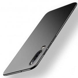 Funda Gel Huawei P30 Flexible y lavable Mate Negra
