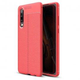 Funda Huawei P30 Tpu Cuero 3D Roja