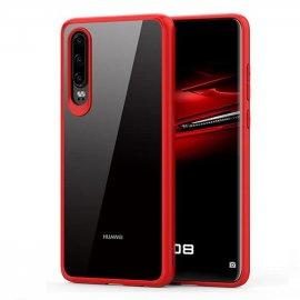 Funda Flexible Huawei P30 Gel Dual Kawax Roja