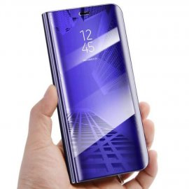 Funda Libro Smart Translucida Huawei P30 Lila
