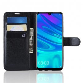 Funda Libro Huawei P30 Soporte Negra