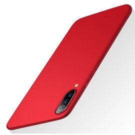 Funda Gel Xiaomi MI 9 Flexible y lavable Mate Roja