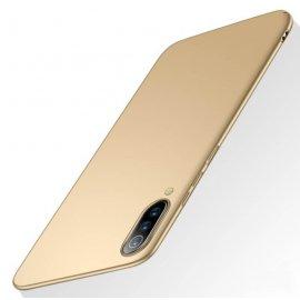 Funda Gel Xiaomi MI 9 Flexible y lavable Mate Dorada