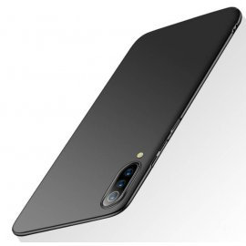 Funda Gel Xiaomi MI 9 Flexible y lavable Mate Negra