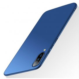 Funda Gel Xiaomi MI 9 Flexible y lavable Mate Azul